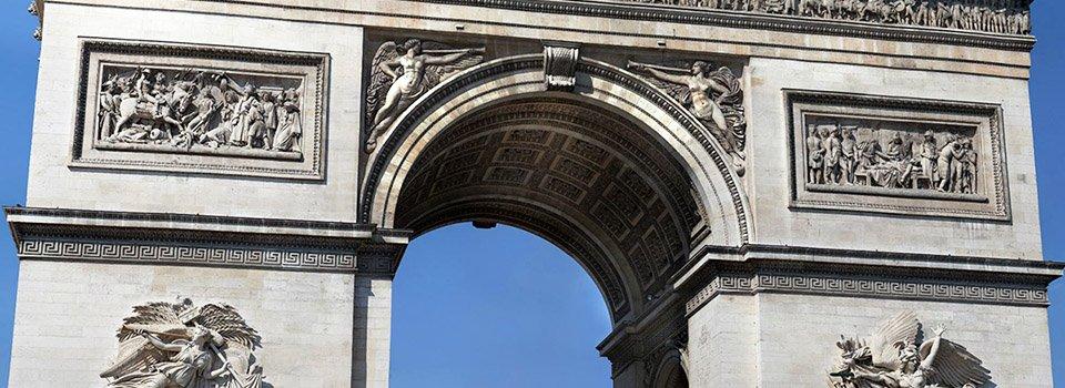 Panorama Haute Définition de l'Arc de Triomphe