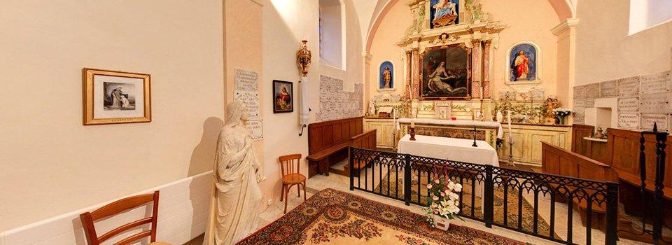 Visite virtuelle 360° de la Chapelle Notre Dame du Pont à Sirod (Jura)