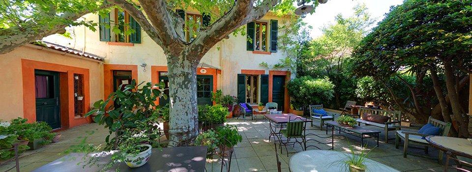 Visite virtuelle 360° de l'hôtel Beauséjour à Saint Cyr sur Mer